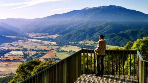Mount Beauty, Lookouts