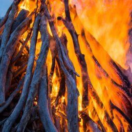 Kiewa Valley Community Bonfire